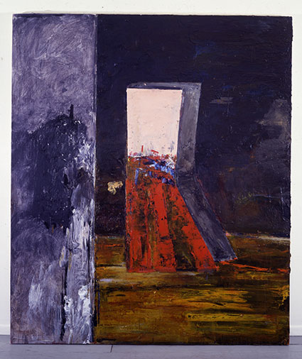 (Red) Strand Infanta, 1980, Oil on Canvas, 6.5' x 5.5'